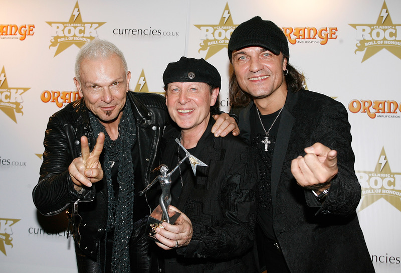 Image result for Scorpions photos with Klaus,Matthias and Rudy